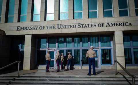 USA makes staff cuts at embassy in Cuba permanent