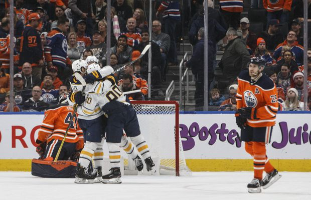 Colin Miller lifts Sabres to 3-2 overtime win over Oilers