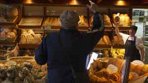 An Atwater Market bakery in Montreal. The rise in food prices abated as 2011 came to an end.