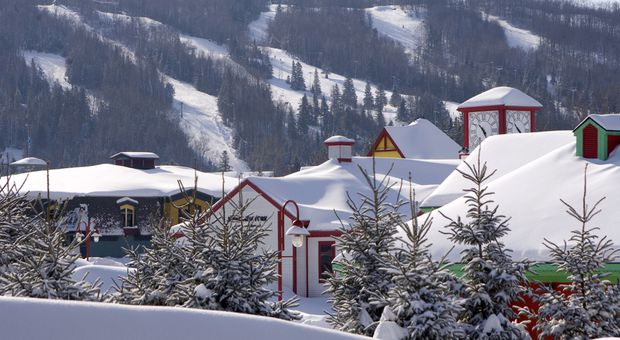 Lose the cookie-cutter ski resort and head to Saint-Sauveur, Que.