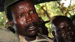 In this Nov. 12, 2006 file photo, the leader of the Lord's Resistance Army, Joseph Kony answers journalists' questions following a meeting with UN humanitarian chief Jan Egeland at Ri-Kwamba in southern Sudan. Today's topics: #stopkony; school systems as last-century creatures; Oxy addicts; Canadian filmmaking … and more