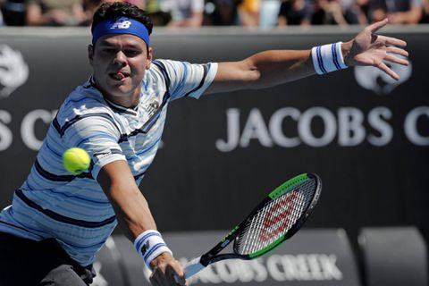 Milos Raonic suffers early round exit at Australian Open