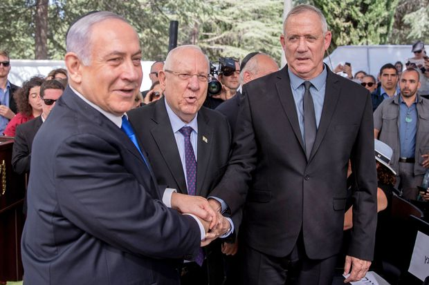 Netanyahu's offer for unity government in Israel rebuffed by rival Gantz