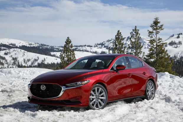 Mazda Introduces All Wheel Drive To The 3