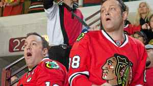 "Vince Vaughn, right, and Kevin James in a scene from ""The Dilemma"""