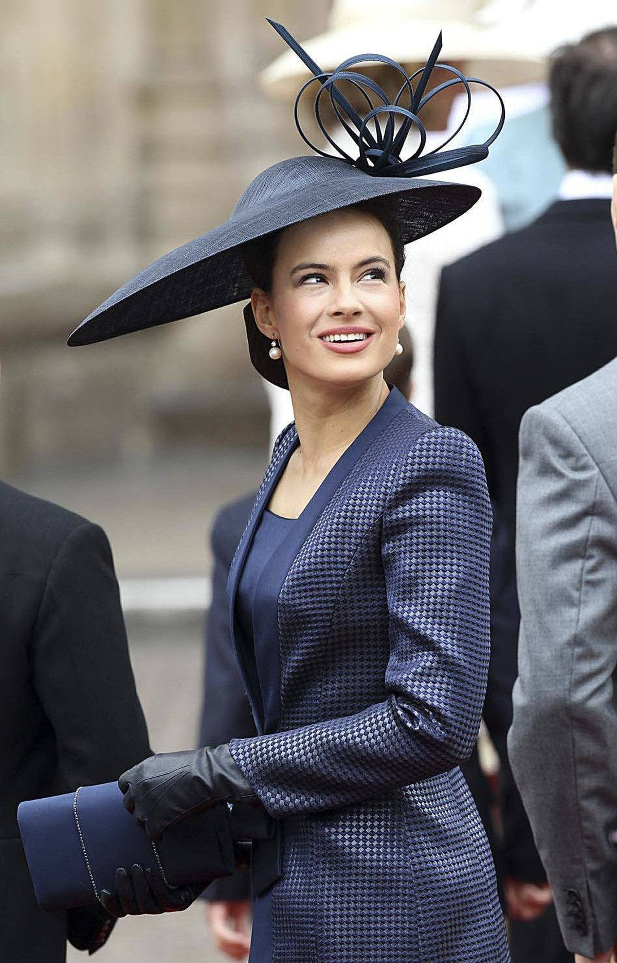 Sophie Winkleman, Lady Frederick Windsor arrives to attend the Royal Wedding of Prince William to Catherine Middleton at Westminster Abbey on April 29, 2011 in London, England.