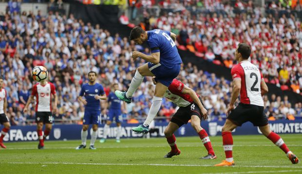 24d7248939473 Chelsea beats Southampton 2-0 to face Man United in FA Cup final ...