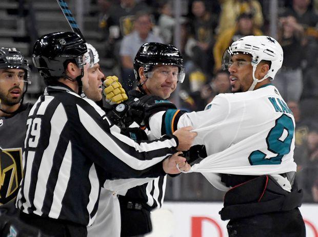 Sharks Forward Evander Kane Suspended For 3 Games