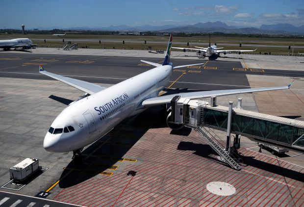 South African government puts flag carrier SAA into rescue plan to avoid liquidation