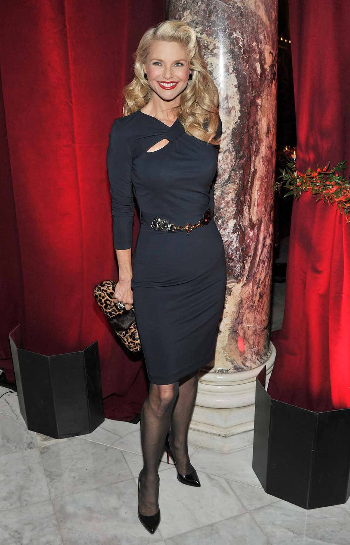 """Model/actress Christie Brinkley attends the after-party for the premiere of """"The Ides of March"""" in New York City last week."""