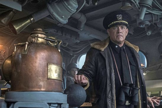 Does Tom Hanks' Apple TV+ naval thriller Greyhound miss the boat? Aye, sir