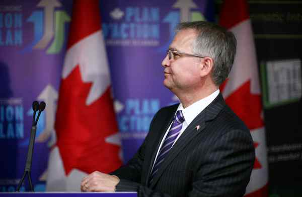Minister of State for Science and Technology Gary Goodyear.
