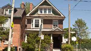 831 Logan Avenue, across from popular Withrow Park in east-end Toronto is in rough shape after years of less than meticulous care. But the home sold last week for more than $1-million.