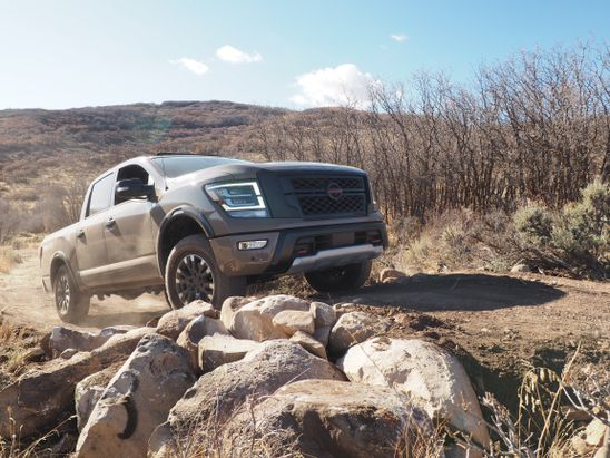 The 2020 Nissan Titan brings remarkable comfort to the light-duty pickup segment