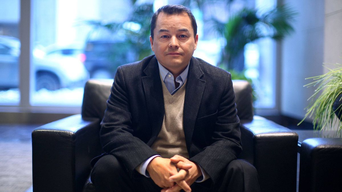 Assembly of First Nations National Chief Shawn Atleo poses for a photograph in Ottawa on Jan. 20, 2012.