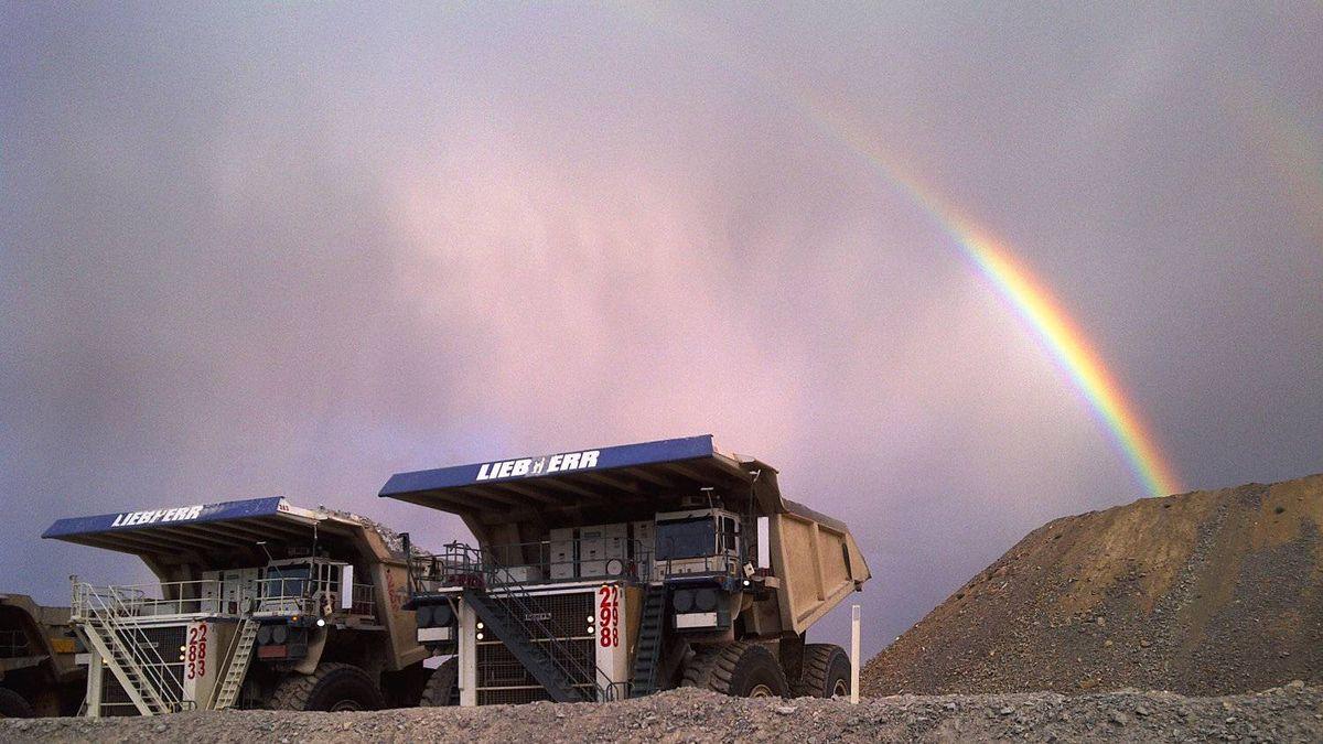 Barrick's Goldstrike mine in Nevada.