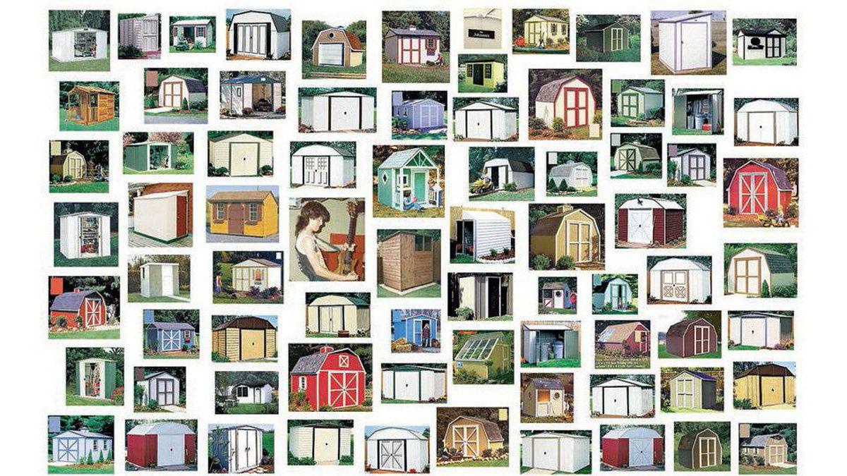 Steven Shearer, Toolshed study, 2004