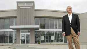 Jerry Gazarek, who once owned a Pickering, Ont., Chevy-Cadillac dealership before he was forced out after 32 years, stands at the now-vacant dealership, May 1, 2012. Mr. Gazarek is part of a class-action lawsuit against General Motors and law firm Cassels Brock and Blackwell.