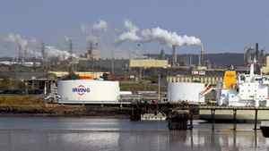 The Irving Oil refinery in Saint John, NB.