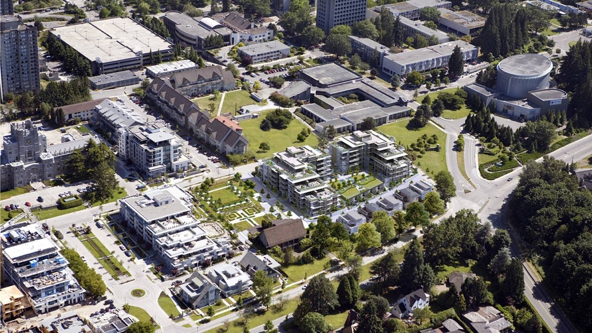 UBC campus in Vancouver.