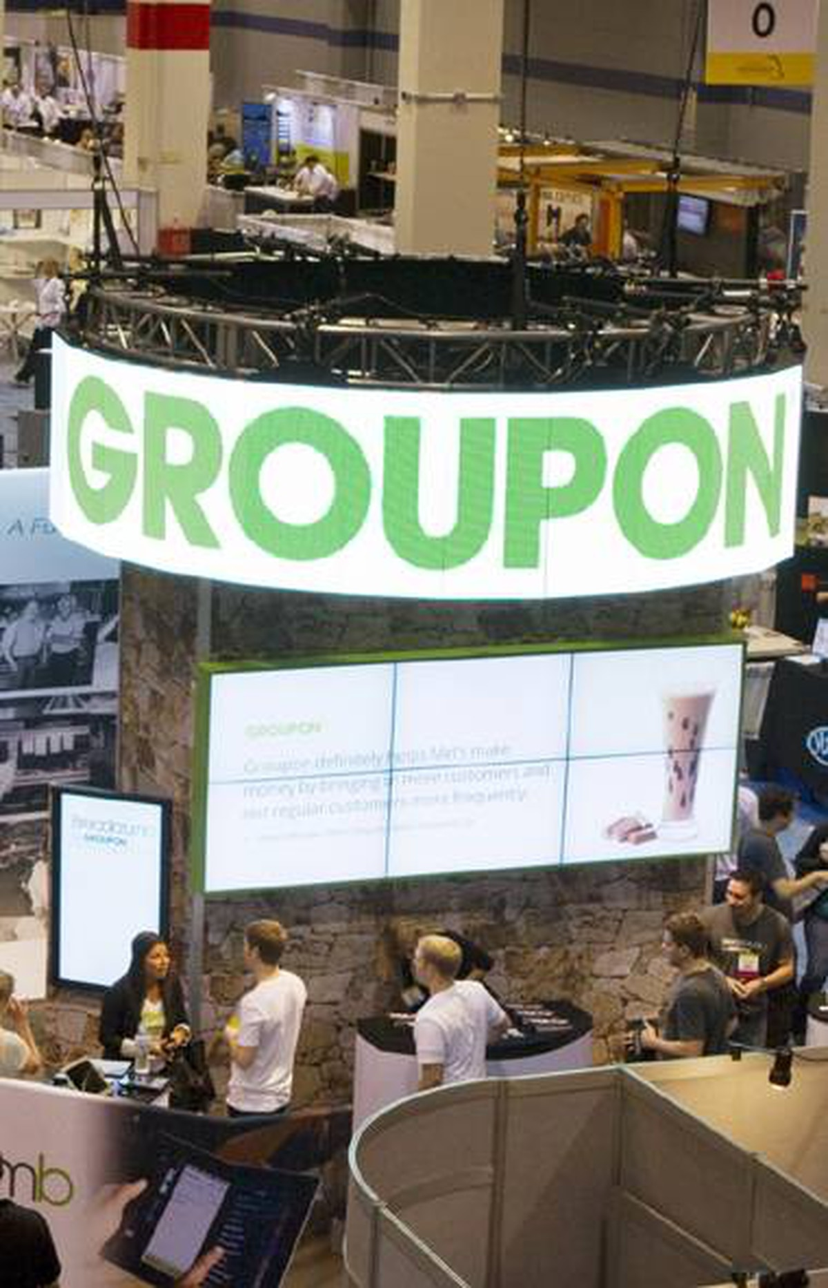 AP Images for Groupon