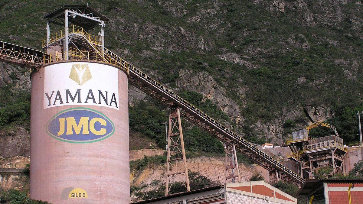 Yamana Gold's Jacobina Mine in northern Brazil.