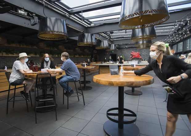 Tory Urges Ontario To Add More Restrictions In Reopening Toronto S Bars Restaurants The Globe And Mail