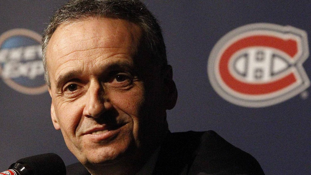 Will Montreal Canadiens manager Pierre Gauthier stand pat or make a bold move ahead of the NHL trade deadline? REUTERS/Christinne Muschi