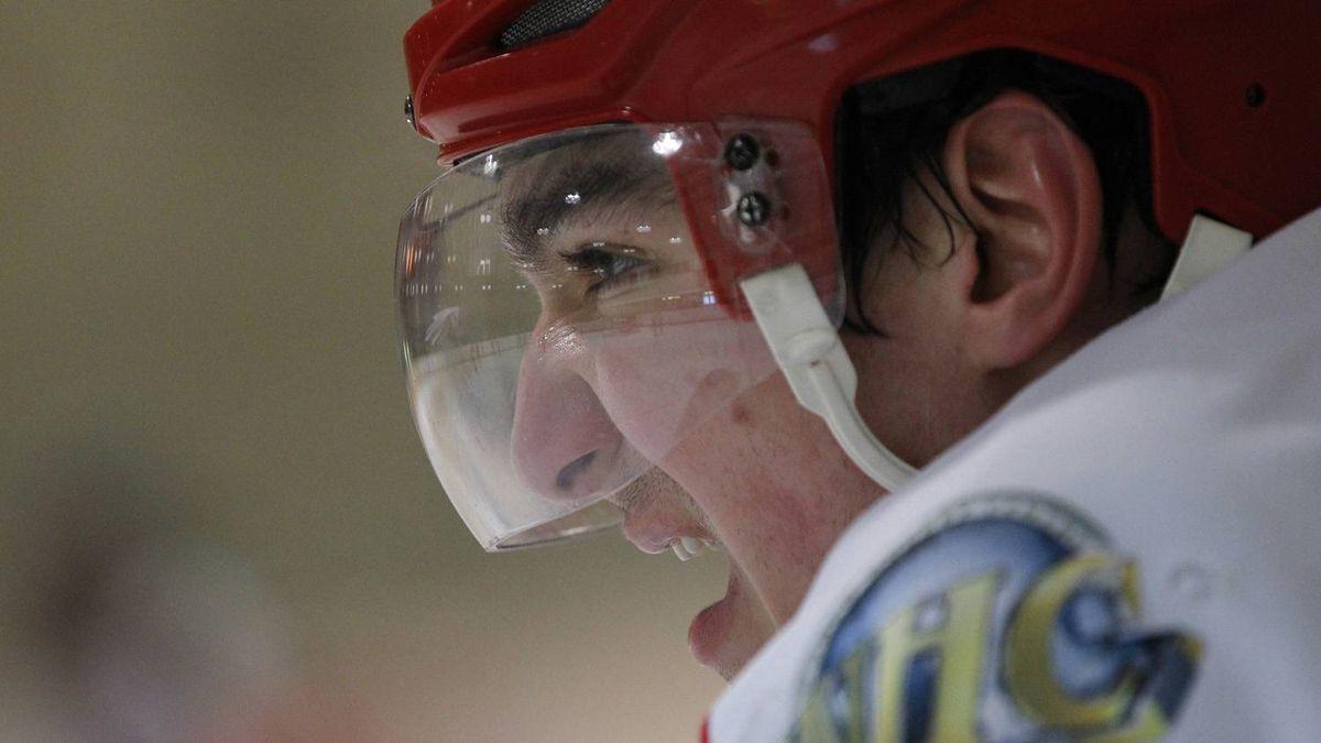Stanislav Dzakhov takes a breather between shifts.