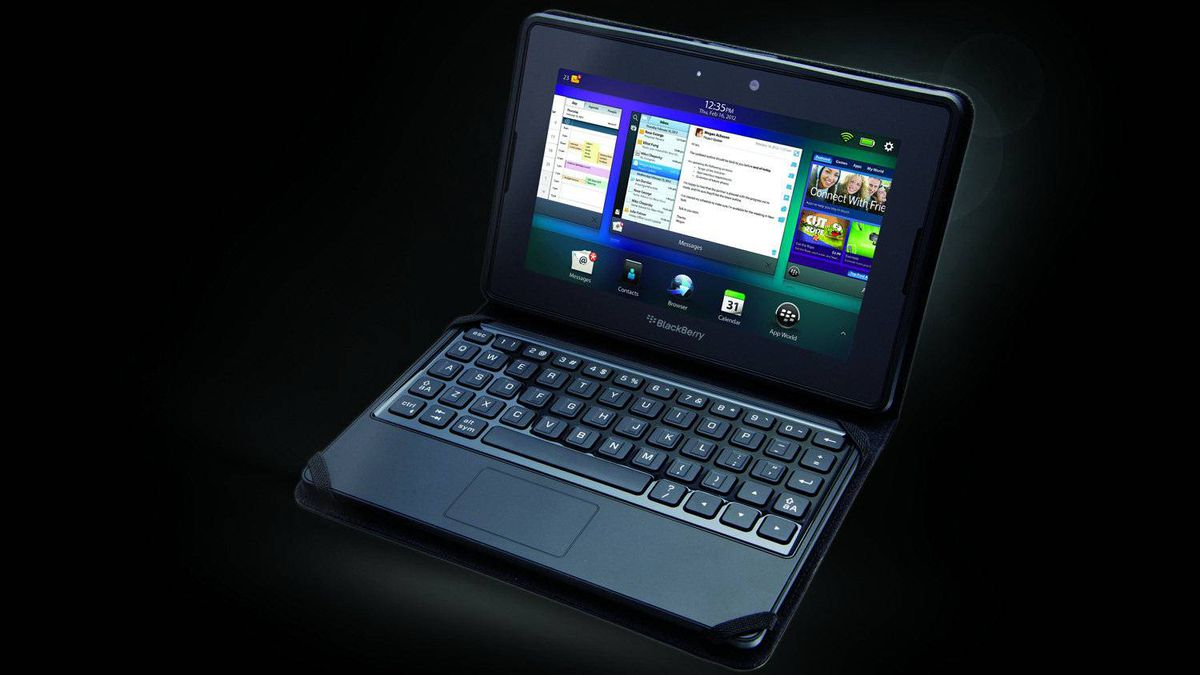 The keyboard, which the Canadian smartphone company is selling for $120, uses a secure Bluetooth wireless link and has a touchpad that mimics the PlayBook's touch gestures. The touchpad can also be used as a computer mouse.
