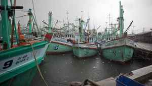 The Thai fishing port of Sonkhla, shown on May 19, 2010, is where it is believed the Tamil migrant ship Sea Sun set sail for Canada.