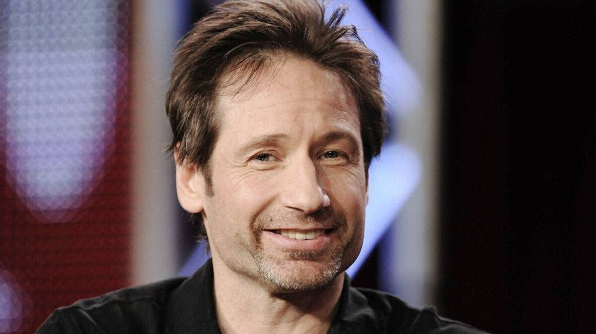 """Actor David Duchovny takes part in a panel discussion for the show """"Californication"""" at the CBS and Showtime portion of the 2011 Winter Press Tour for the Television Critics Association in Pasadena, California, January 14, 2011."""