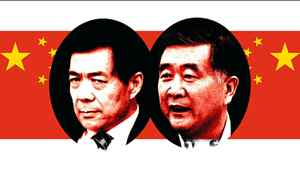 On the conservative 'new left' of Chinese politics, is Bo Xilai (left), the boss of Chongqing, who's become famous for crackdowns on crime and nostalgic celebrations of Chairman Mao. At right is his rival,  Guangdong chief Wang Yang, the liberal governor of China's freest state.