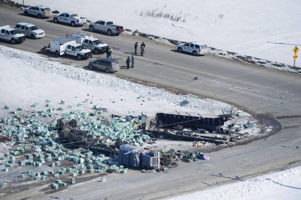 Cause of Humboldt Broncos bus crash still unknown: RCMP