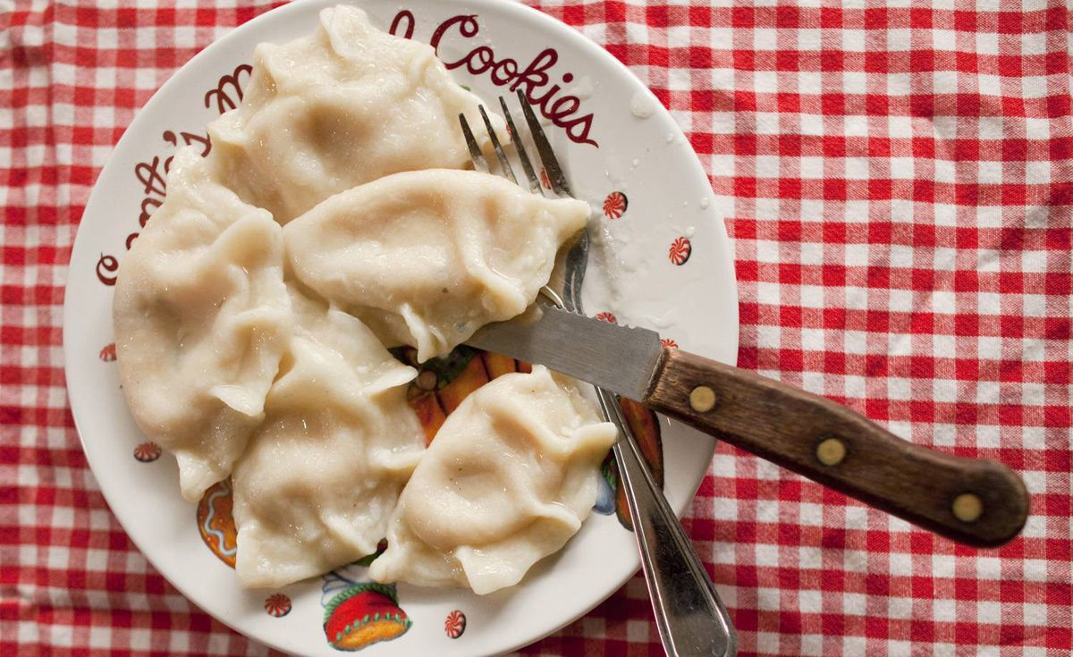 <b>Pierogies:</b> Mark Schatzker defends his pick by writing about a friend who started selling pierogies across North America. 'Here in Canada, he can hardly keep them in stock,' Schatzker writes. 'South of the border, not so much. There are, he told me, regions of American pierogi consumption nestled tightly against the Canadian border. The geography of the pierogi, in other words, is nearly identical to NHL ratings and Tim Hortons franchise density. It's what separates us from them. In other words, it's a Canadian Studies thesis waiting to be written.'