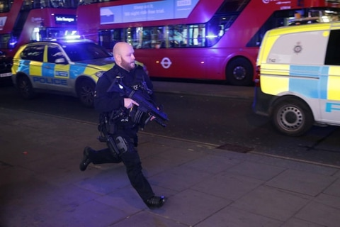 Incident at London's Oxford Circus station over