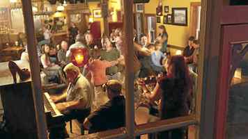 A night of music and dancing at the Red Shoe Pub in Mabou, Cape Breton. The local favourite is owned by the Rankin family.
