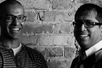 Jigsee CEO Ray Newal, left, and chief technology officer Areef Reeza