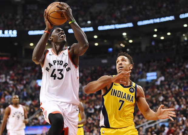 Raptors crush Pacers for largest margin of victory in team history