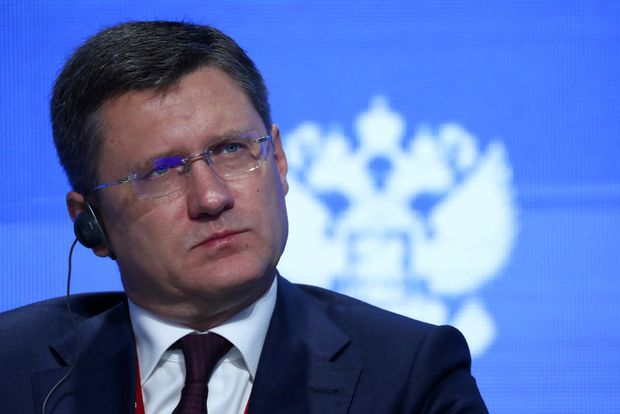 Russian energy minister says no changes to oil-supply agreement have been formally proposed