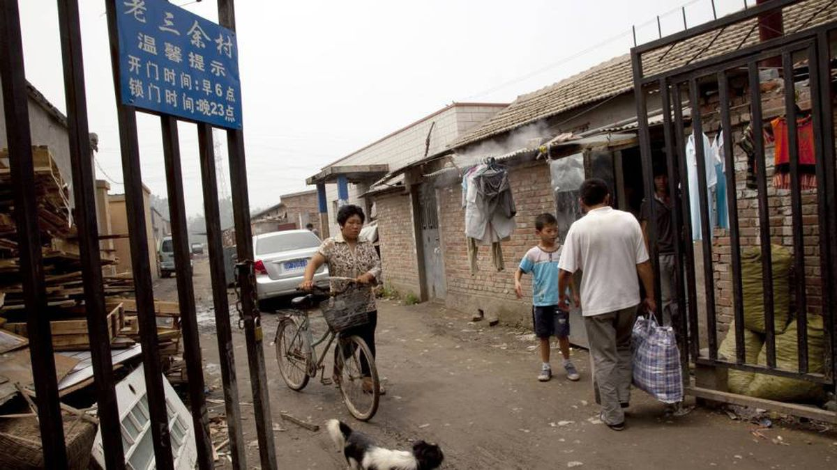 Sixteen villages in Daxing district, south of Beijing, have been locked down at night. Authorities say they're trying to get a better handle on the millions of migrant workers who have moved to the Chinese capital in search of work.