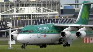 Aer Lingus's chief executive officer said the airline would look at trying to reduce its fuel bill and would lobby the Dublin Airport Authority to reverse its 39-per-cent increase in airport charges.
