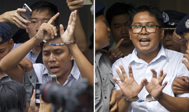 Myanmar court upholds conviction of Reuters reporters