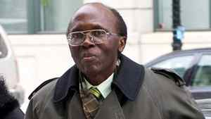 Leon Mugesera, accused of helping incite the Rwandan genocide, arrives at Federal Court Monday, January 9, 2012 in Montreal to seek a judicial review and a delay of his expulsion from Canada.