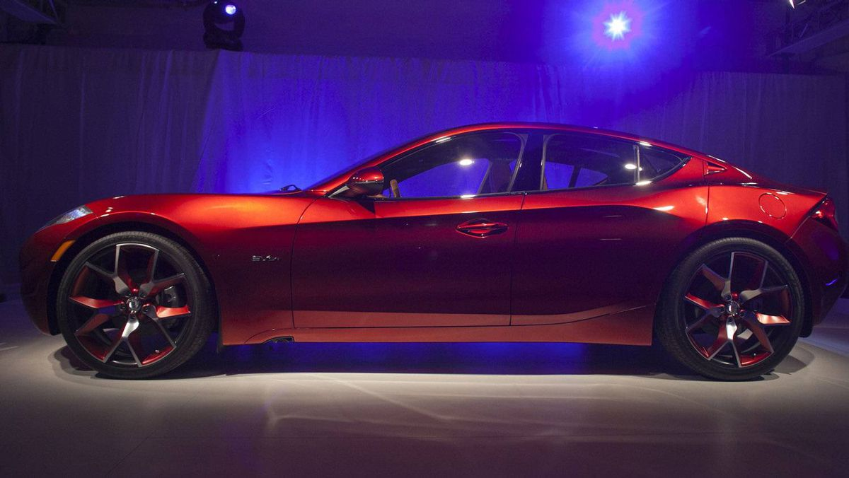 The Fisker Atlantic Sedan.