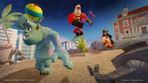 Disney Infinity imagineers the ultimate fan mash-up video game