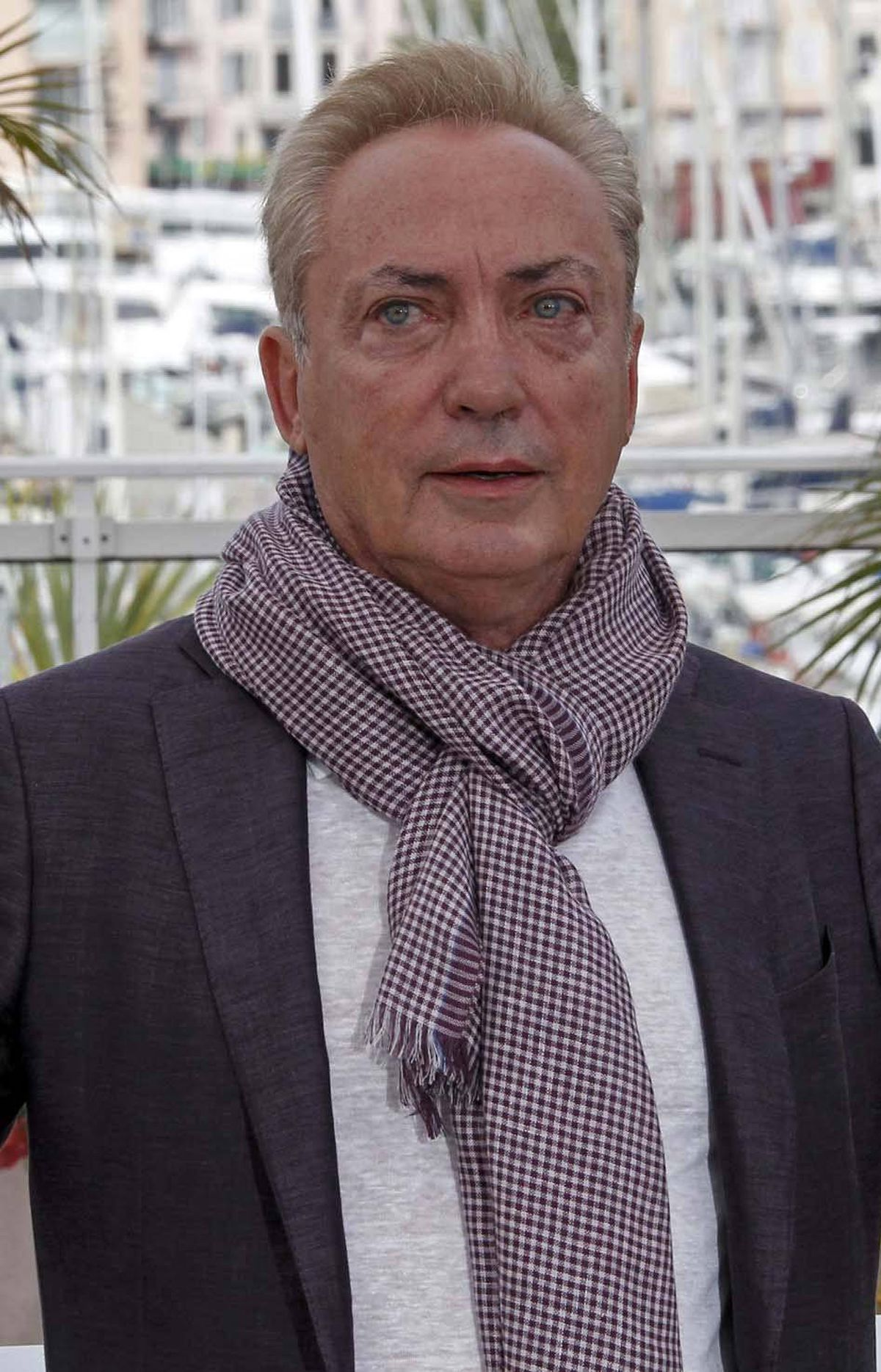 "Actor Udo Kier poses at the photo call for ""Melancholia"" at the Cannes Film Festival on Wednesday."