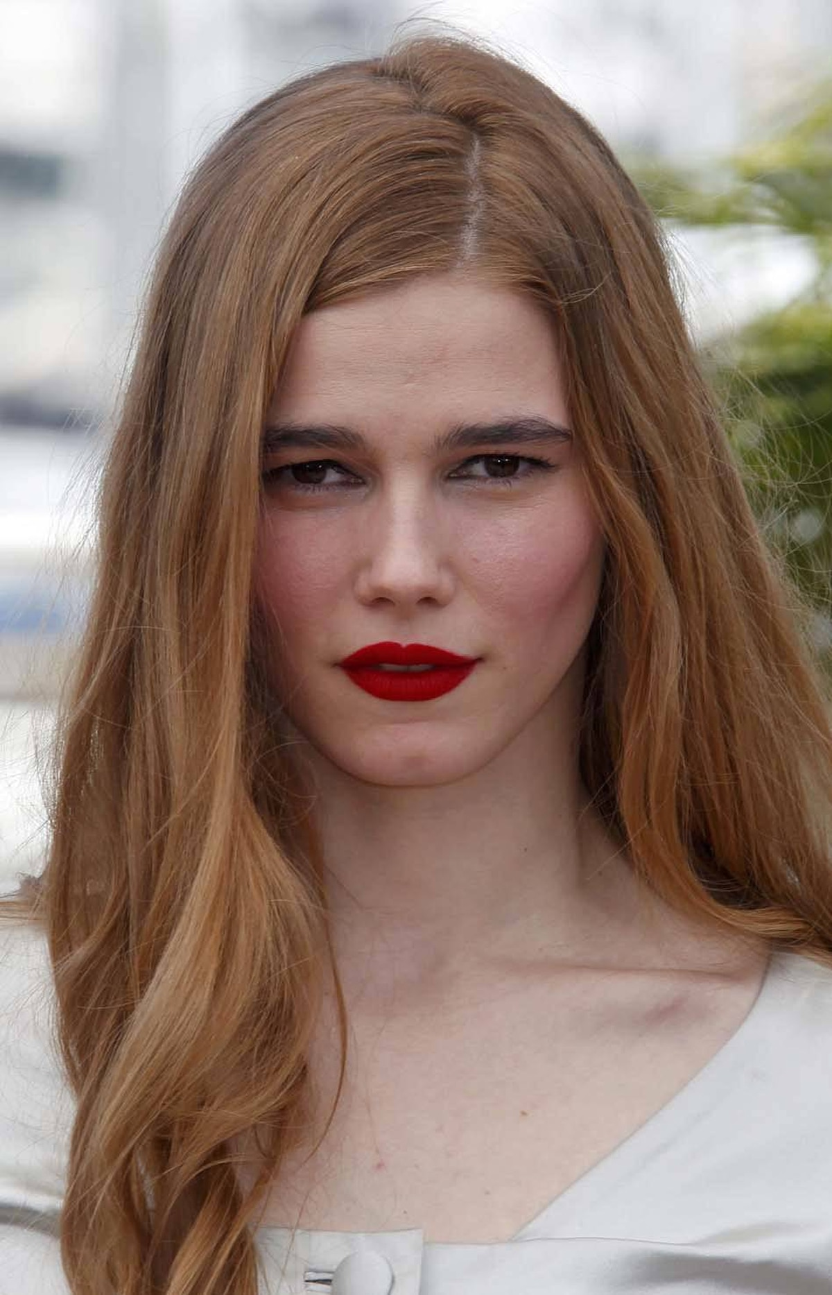"""Runner-up French Actress of the Day Pauline Jacquard at the photo call for the film """"L'Apollonide"""" at the Cannes Film Festival on Monday."""