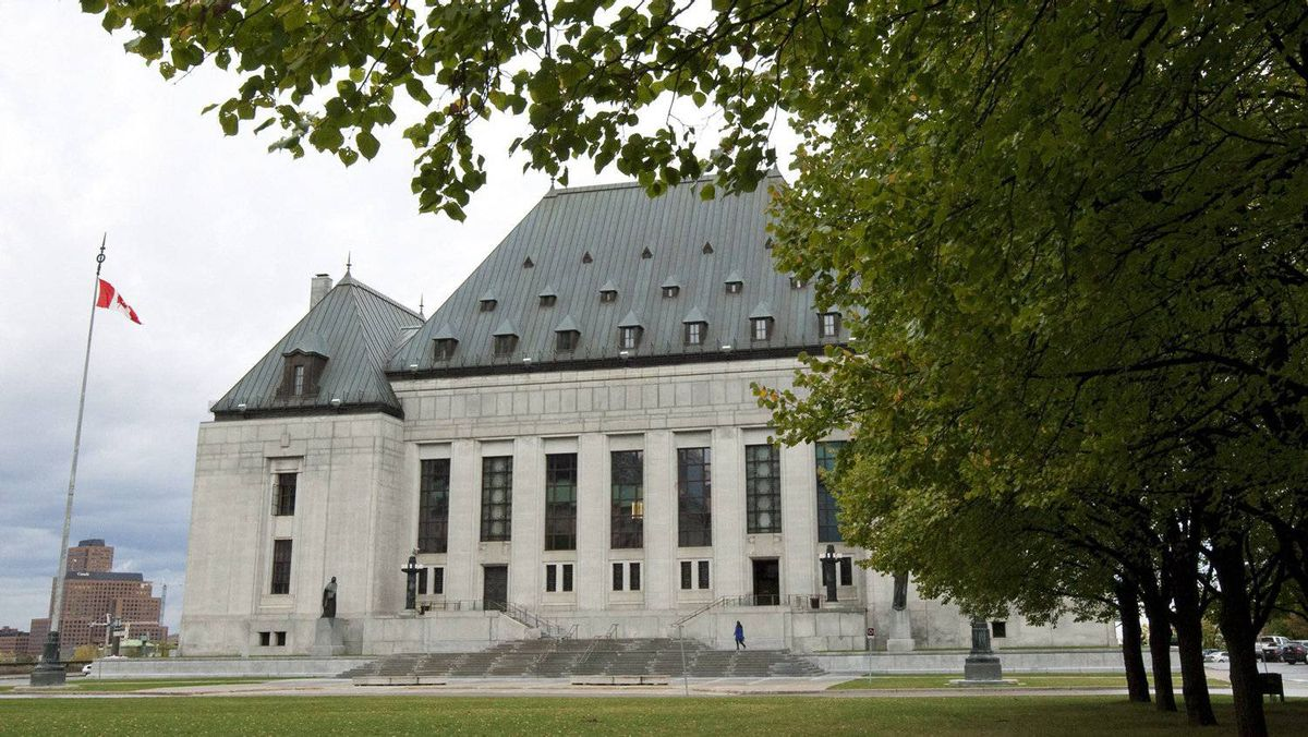 The Supreme Court of Canada is seen in Ottawa on Oct. 17, 2011.