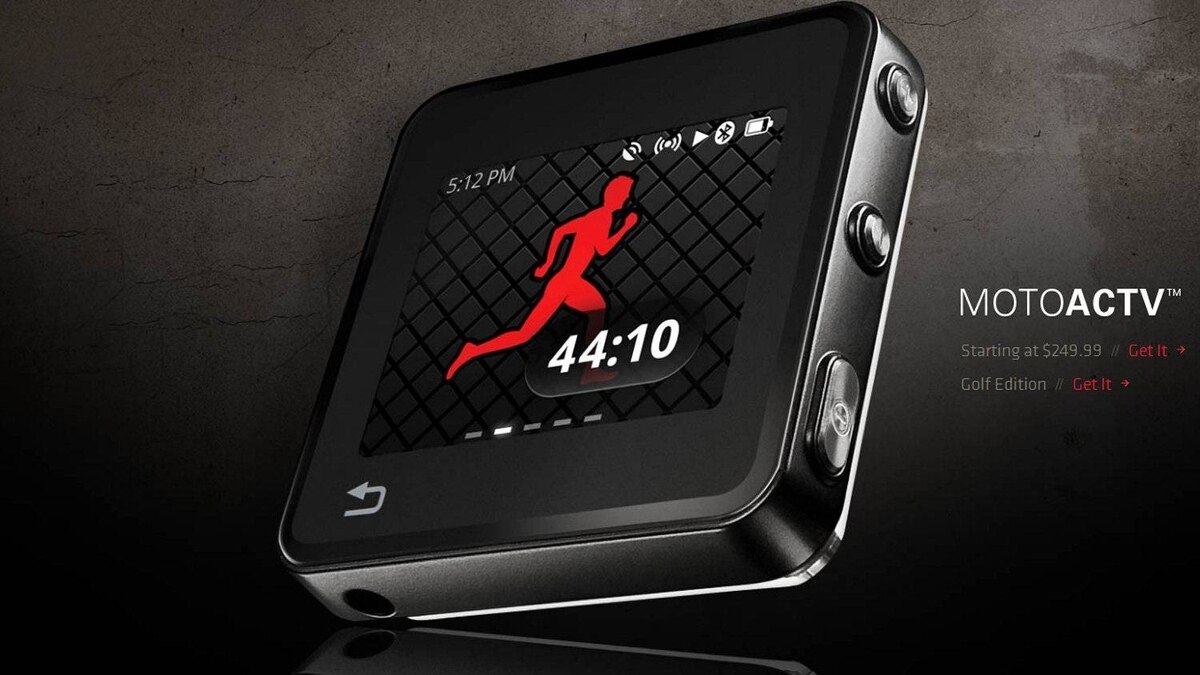 Motoactv comes across as a kind of Nike+ for multiple exercises. It lets you quickly generate fitness goals for walking, running, cycling, elliptical or step-machine workouts. You can set time, calorie or distance goals. It's also a pretty good MP3 player.